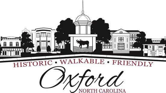 Logo for the town of Oxford NC